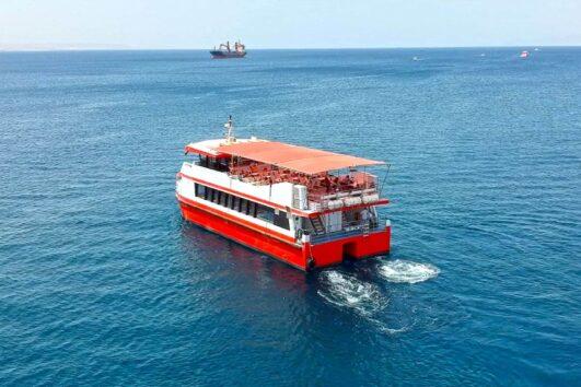 ספינת זכוכית באילת